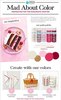 Martha Stewart Crafts® Mad About Color: June 2015