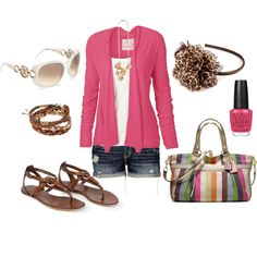 Pink summer/spring outfit