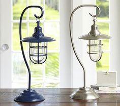 Fisherman Table Lamp / very cute for Liam's nautical nursery!