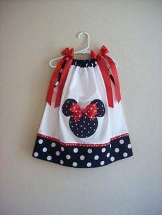 Minnie Mouse Pillow Case Dress