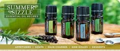 If you click on the link below it'll show you several different recipes using these doTERRA Summer Sensation Oils. Such as - BLACK PEPPER LEMON CHICKEN, GRILLED HALIBUT WITH CILANTRO GARLIC BUTTER, NO-BAKE KEY LIME CREAM CAKES...YUM! Here's the Link - http://www.doterra.com/summersizzle/maincourses.html