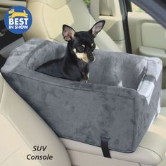 Animals Matter Companion SUV Console Car Seat - Dog Beds, Dog Harnesses and Collars, Dog Clothes and Gifts for Dog Lovers | In The Company Of Dogs