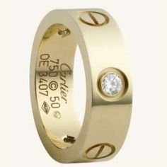 Cartier Love Ring yellow gold with diamonds  $ 39.99