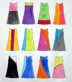 How to Refashion with Color-Blocking || Tina Sparkles for Sew,Mama,Sew!