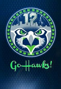 ~ SEATTLE SEAHAWKS 12th Man vinyl decal + FREE PRINT + FREE SHIPPING! ~
