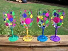 These cute wine glasses are the perfect gift for friends, bridesmaids, a sorority sister, a host or for yourself.