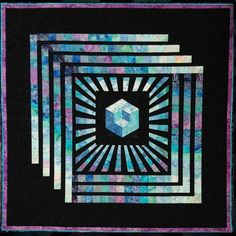 Magic Cube Quilt Pattern by Kathleen Andrews (intermediate, wall hanging, lap and throw)