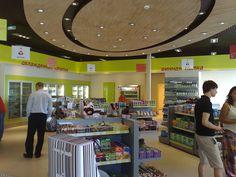 Artoil c-store interior by Minale Tattersfield Roadside Retail, via Flickr