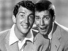 """Dean Martin & Jerry Lewis """"The Colgate Comedy Hour""""  Feb 1955"""