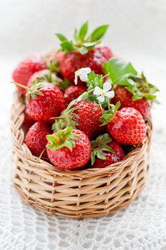 Fresh strawberries~yum......