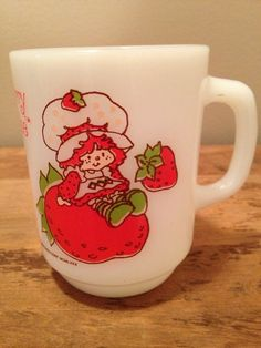 vintage Strawberry Shortcake mug