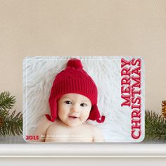 Concise Cheer - Christmas Cards - Wiley Valentine - Winterberry - Red : Front