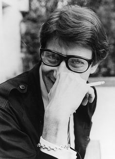 Yves Saint Laurent-the quiet prince of fashion, & iconic French fashion couturier.