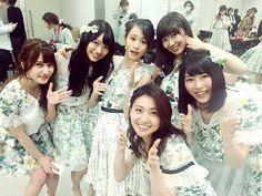 /Annin, Kitarie, Acchan, Sasshi, Yuihan and Yuko #AKB48 #HKT348 #NGT48