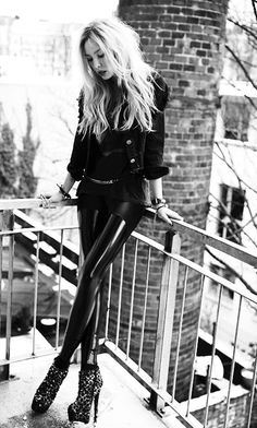 Istanbul street style russian fashion blogger leather jacket outfit - Rock Chick On Pinterest Rock Chick Rock Girls And Rock