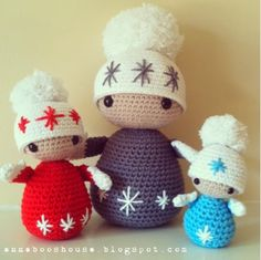 Free Winter Dolls Pattern