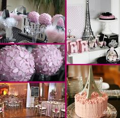 Festa com o tema Paris