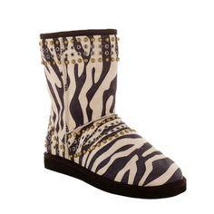 Jimmy Choo Ugg Kaia Zebra