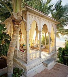 Moroccan style backyard retreat