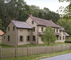Stone house addition/renovation - Oley, PA (Peter Zimmerman Architects)