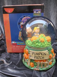 Great pumpkin patch aquarium