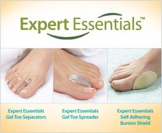 Say no to toe woes! Help relieve the foot pain of bunions, overlapping toes and hammertoes. Our Expert Essentials products offer relief and help enhance foot health.