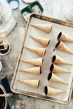 chocolate chip cookie dough drumsticks