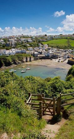 Best of the British Isles.  Port Isaac, Cornwall, England