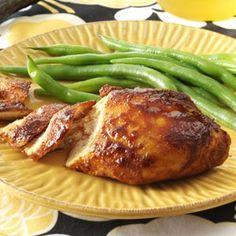 Five-Spice-Glazed Salmon with Sesame Green Beans | Recipe | Salmon ...