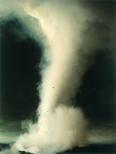 Tornado    photo by Sonja Braas, The Quiet of Dissolution series, 2005