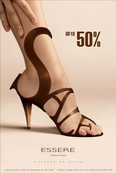 Shoes… Sale… Typography… Triple WIN!!