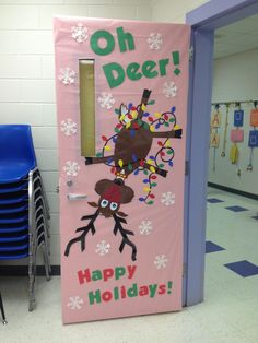 December Ideas On Pinterest Christmas Door Christmas