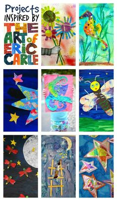 Art and lit on pinterest mouse paint eric carle and leo for Books with art projects