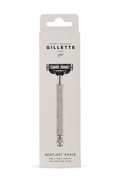 Gillette Packaging Concept by Anton Green, Karin Olafsdottir, Lucas Andersson and Linnea Andersson