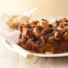 My Favorite Things: Easy Slow Cooker Caramel-Banana-Pecan Bread Casserole