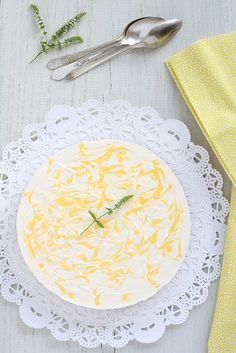 Pastís de formatge i llimona