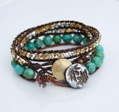 DIY Bracelets.  Love!!
