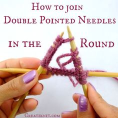 How to join DPN in the round - CreatiKnit.com