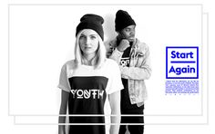 YOUTH   AW '12 Collection by Samuel Carter Mensah, via Behance