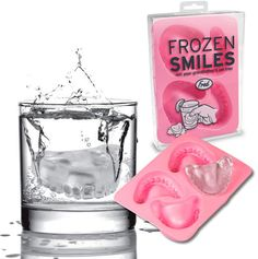 Frozen Smiles = Denture Ice Cubes. One of these years I'm going to get this for my parents