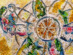 The four seasons chagall chicago pinterest the for Chagall mural chicago