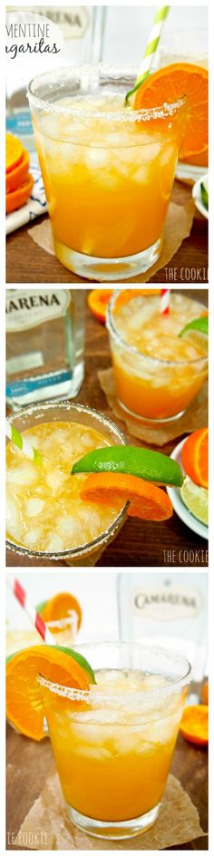 Fresh Squeezed Clementine Margaritas!! Delicious and low calorie! Sweetened with agave nectar.  YUM!! Hello Spring!