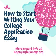 winning essays college applications