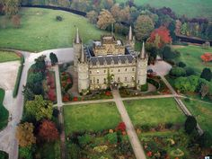 Inverary Castle. The building in the county of Argyll, western Scotland, has been the seat of the Duke of Argyll, chief of Clan Campbell, since the 17th century.