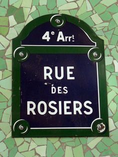 Rue des Rosiers (for the best falafels in Paris) #mytripadvice