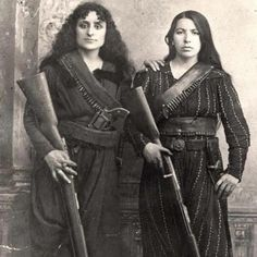 An 1895 portrait of Amazons of the Caucasus. Rebellion has always taken place throughout the centuries. One of the earliest forms of rebellion—which continued into the late 20th century—was women adopting male clothes.