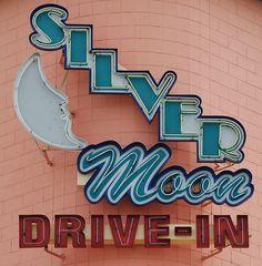 Silver Moon Drive-In Theatre - Lakeland, FL by drewcjm, via Flickr