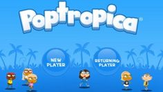 Poptropica, free app for kids