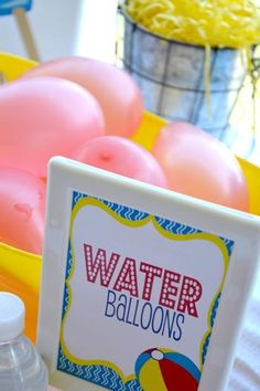 Water balloons make for fun outdoor activities for the kids.