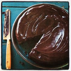 """Slow cooker chocolate spice cake from """"The Southern Slow Cooker"""" cookbook. No boxed cake mix here. Totally homemade in the #crockpot #cake #recipe #chocolate"""